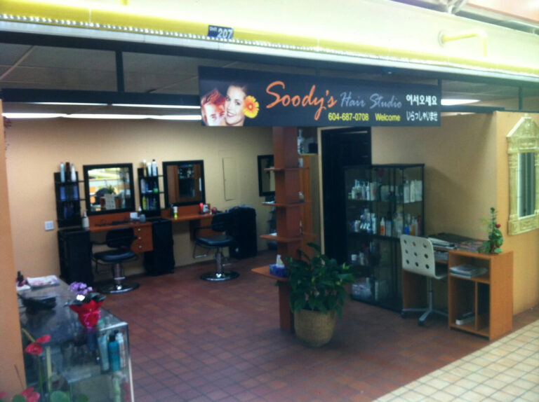 Vancouver-commercial-Painter-Interior-hair-salon-